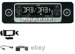 Dietz Usb Dab Mp3 Bluetooth Autoradio Für Smart Fortwo (2010-2015)