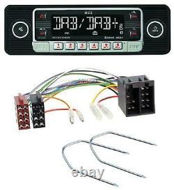 Dietz Usb Dab Mp3 Bluetooth Autoradio Für Vw Passat B2/b3/b4 85-97 Golf 3 III 91