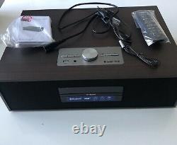 Philips Bt4800, Lecteur Cd, Bluetooth, Dab Radio Sound System Wood Style Retro