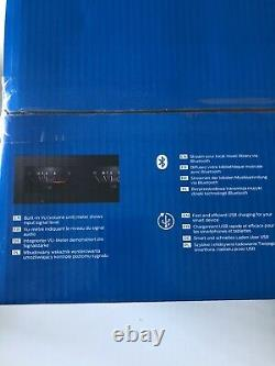 Philips Btb8000, Mini Hi-fi, Bluetooth, Radio Dab, Lecteur Cd. Style Rétro. Rare