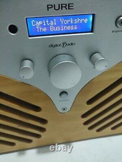 Pure Drx-601ex Dab Radio Retro Très Rare Collectionnable