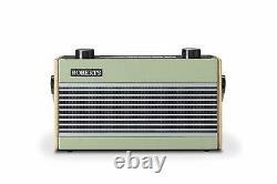 Rambler Bt Retro/digital Portable Bluetooth Radio Avec Dab/dab+/fm Rds Green