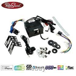 Retrosound Motor-6 Dab+ Komplett-set Black Rsd-black-6 Mit Zubehör Autoradio