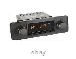 Retrosound Rsd-black-7 Motor-7 Dab+ Komplett-set Black Autoradio Für Oldtimer