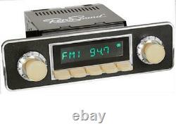 Rétrosound Rsd-ivory-7 Motor-7 Dab+ Komplett Set Ivory Autoradio Für Oldtimer