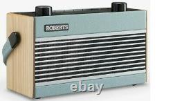 Roberts Bt Rambler Portable Dab+/fm Rétro Bluetooth Radio Vert