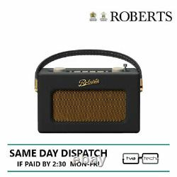 Roberts Compact Radio Dab Dab+ Fm Revival Uno Black Tow Année De Garantie