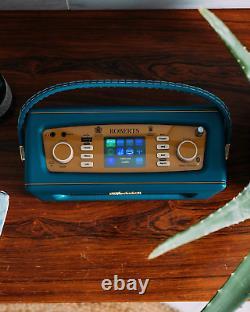 Roberts Radio Rev-istream3tb Retro Dab/dab+ Fm Sans Fil Portable Digital Bluetoo