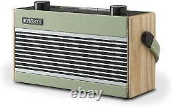Roberts Rambler Bt Radio Bluetooth Portable Rétro/numérique Avec Dab/dab+/fm Rds