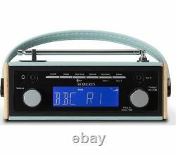 Roberts Rambler Portable Dab+/fm Rétro Bluetooth Radio Blue Currys