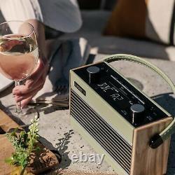 Roberts Rambler Rétro Dab Bluetooth Radio Vert