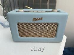 Roberts Retro Dab Radio Duck Egg Blue