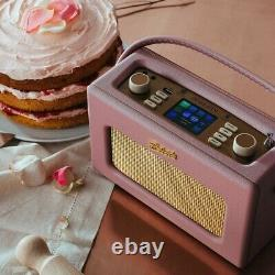 Roberts Revival Istream3 Portable Retro Smart Digital Radio Dusky Pink
