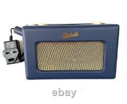 Roberts Revival Rd60 Digital Dab & Fm Rétro Radio Blue & Gold