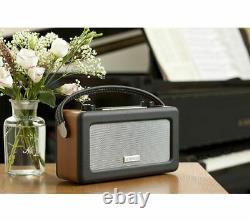 Roberts Vintage Portable Retro Dab Fm Radio Numérique Secteur Ou Batterie Écran LCD