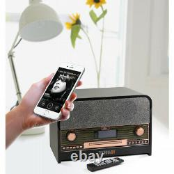 Technaxx Tx-102 Rétro Bluetooth Dab Fm-stereoradio Avec Lecteur CD & Usb