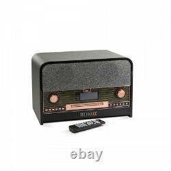 Technaxx Tx-102 Rétro Bluetooth Dab+/fm-stereoradio Mit Cd-player & Usb