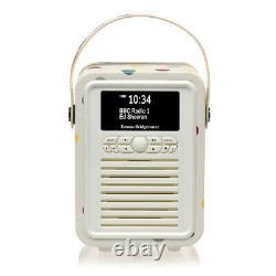 Viewquest Vqminiebpd Emma Bridgewater Rétro Mini Dab Radio À Polka Dot