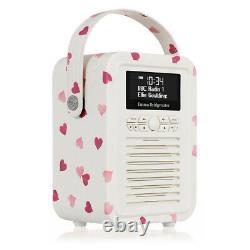 Viewquest Vqminiebph Emma Bridgewater Rétro Mini Radio Dab Dans Les Coeurs Roses